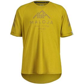 Maloja DrachenmaulM. 3/4 Sleeve Freeride Jersey Men, amarillo